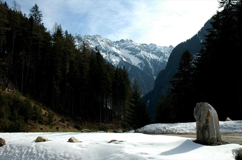 Mountain Peaks - Mayerhofen, Austria