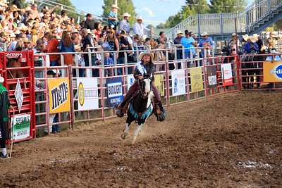 Wed Rodeo Royaltly Run By's and Arena Clearing