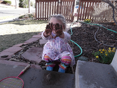 March 2012 - mud pies and gardening