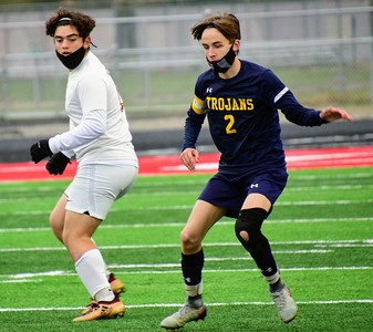 HS Sports - Soccer District Semis at Huron