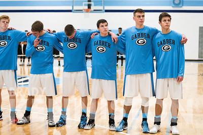 1-5-17 Garber Varsity Basketball