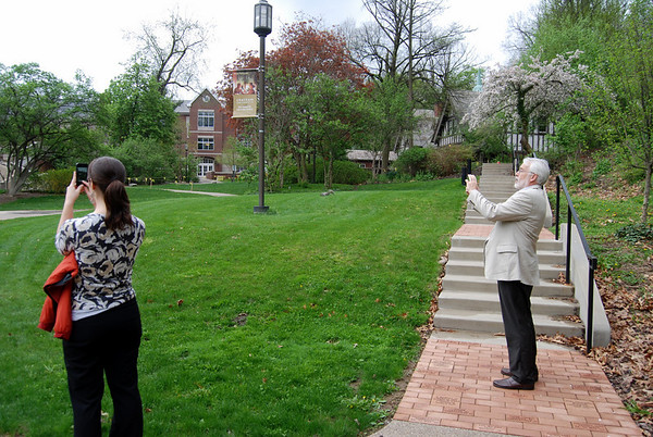 AASHE Visits Chatham University