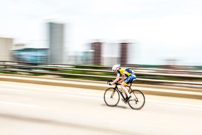 Bike racing in Richmond
