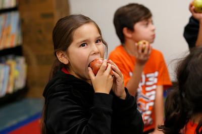 Apple Crunch Day at MacArthur School