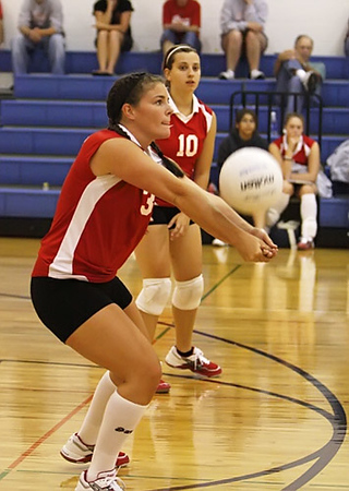 SNHS Volleyball vs Winamac Gallery 1 2008