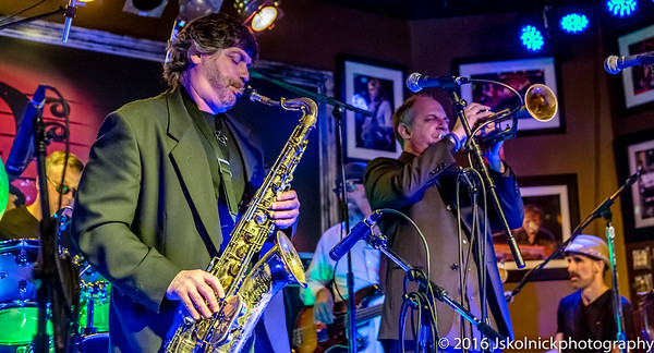 11/13/16 Horns & Keys SoFla Blues Event at The Funky Biscuit