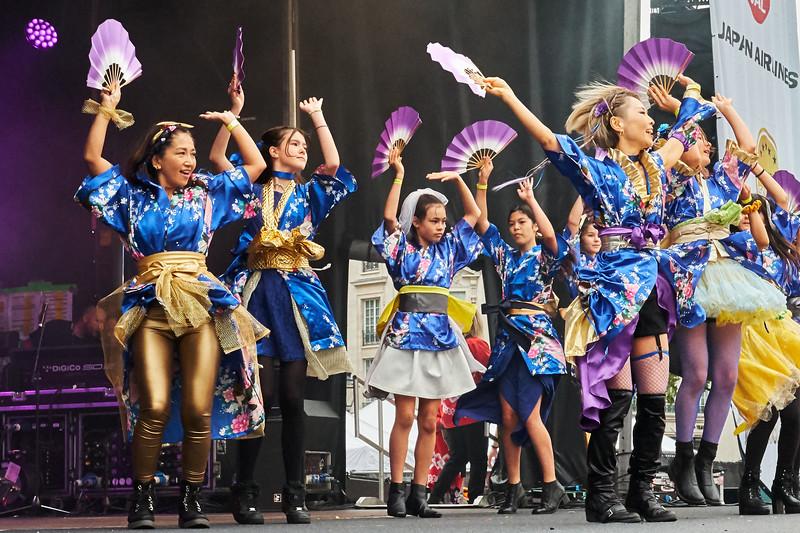 Kyoki Ranbu by the Brighton and Hove Japanese Club Dance Team