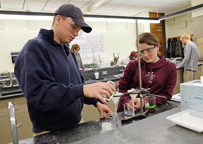 Genetics & Chemistry Labs 2-6-18