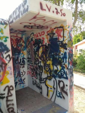 FOI Artists Shelter at Bikurim