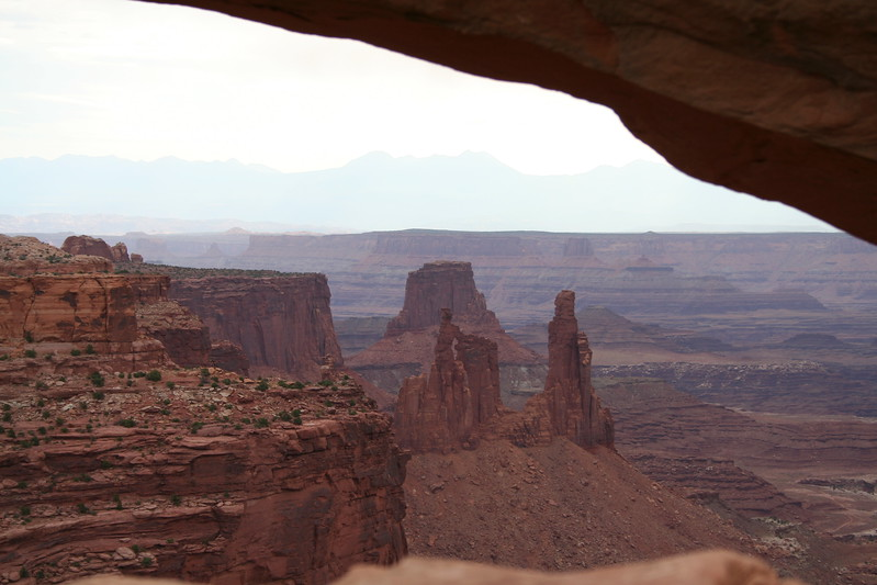20080909-066 - Canyonlands NP Island in the Sky - 31 Mesa Arch and Washer Woman Arch.JPG