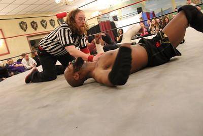 NCW Heavyweight Championship Osirus with Doc Ozone vs. Alexander Lee