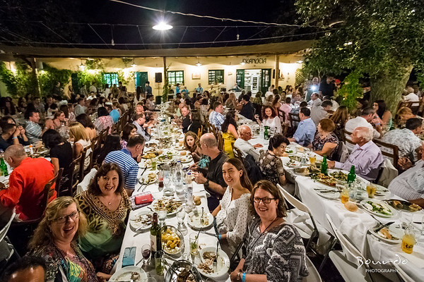 Combined 50th Party Kythera Greece