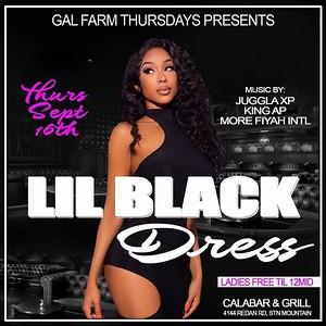 GAL FARM THURSDAYS PRESENTS LITTLE BLACK DRESS