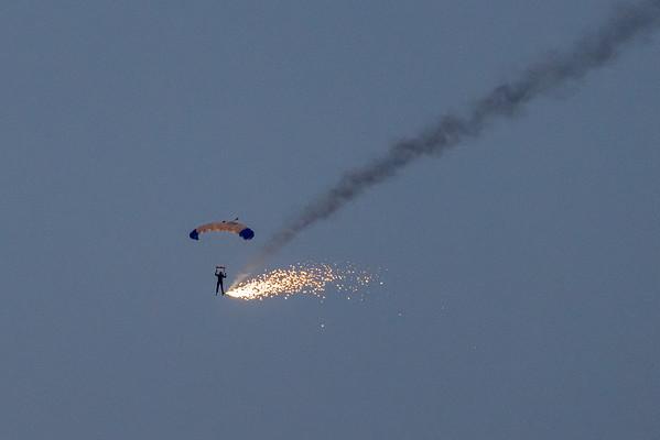 Dalton Barracks Fireworks