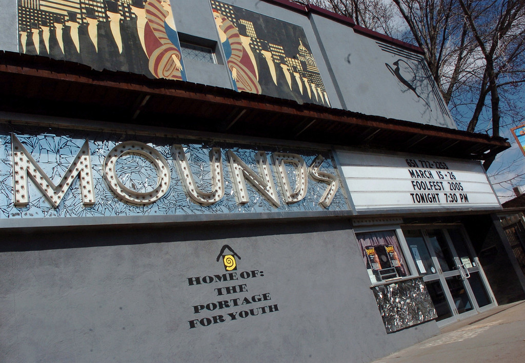 . The Mounds Theatre staff members often claim to be �pulled� back inside by ghosts who are highly protective of the theater if they try to leave without cleaning up after themselves. (Pioneer Press file photo)