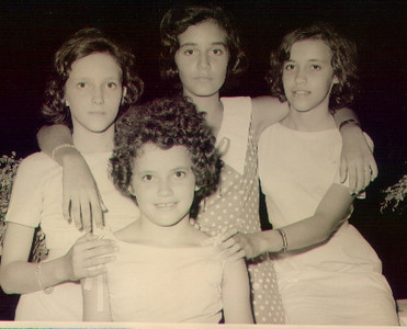 Nucha Barata e manas Madureira - Augusta, Julia e Linda