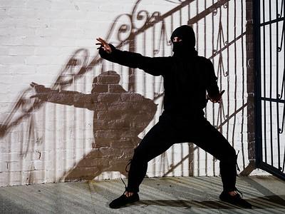 American Ninja Darrin Photoshoot
