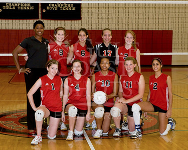 2008-09-25 Volleyball Girls JV1 Portraits