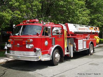 Massachusetts Antique Fire Apparatus Association Muster Lynnfield, MA 6/8/2013