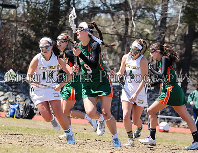 King Philip HS vs Hopkinton HS LAX Girls 2015