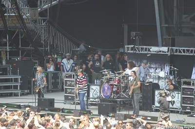 Black Stone Cherry @ Rock on the Range 2012
