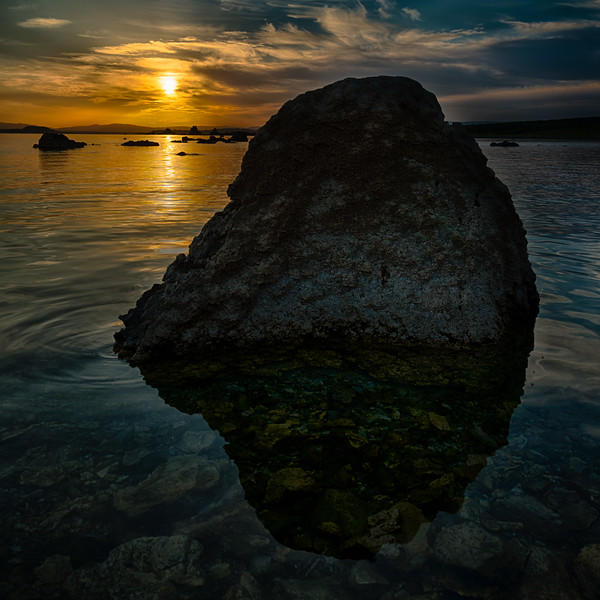 A Rock in Mono Lake