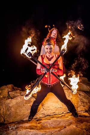 Fire Lovers - Darrell & Erin