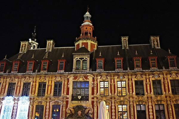 Lille par nuit, décembre 2013