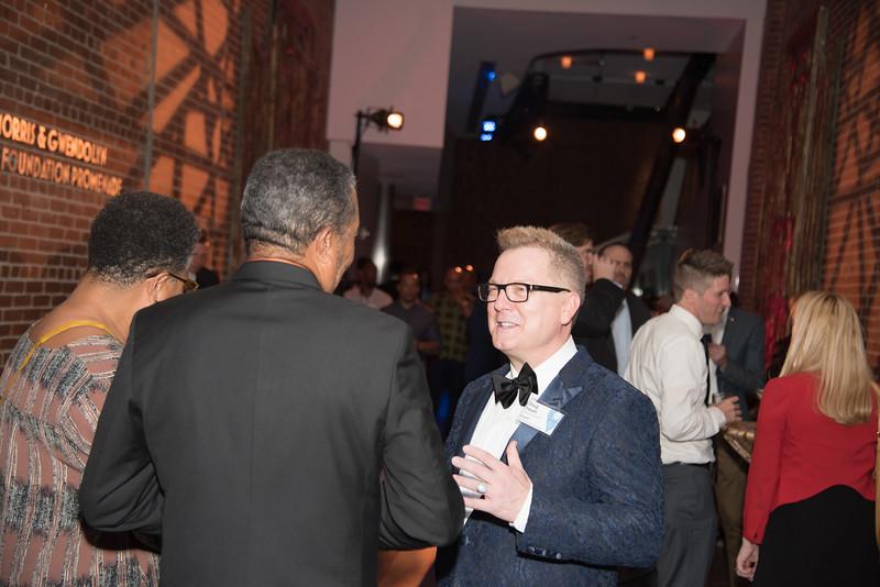 Doug Yeuell, Atlas Performing Arts Center, Destination Atlas Party for a Purpose Gala, October 6, 2017. Photo by Ben Droz.