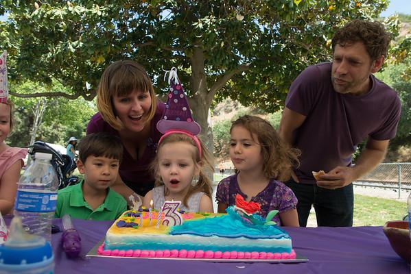 Hartley's Third Birthday