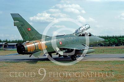 Danish Air Force North American F-100 Super Sabre Pictures