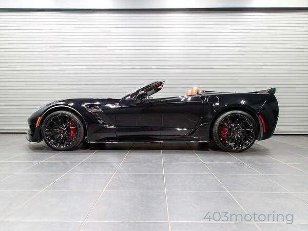 '16 Corvette Z06/Z07 Convertible - Black