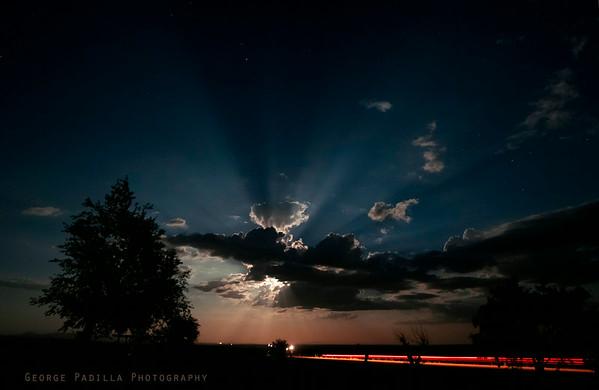 Lightning and Full Moon
