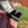 1.11ct Old European Cut Diamond Filigree Ring 40