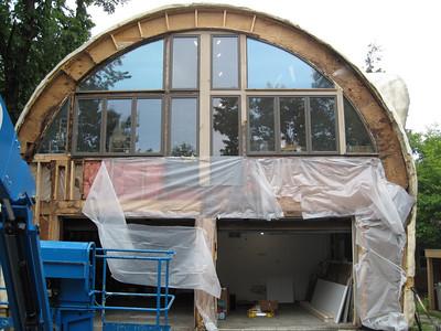 090631-Garage Front Wall - Deck