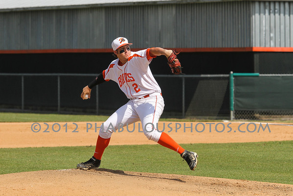 Winter Park @ Boone Boys Varsity Baseball - 2012