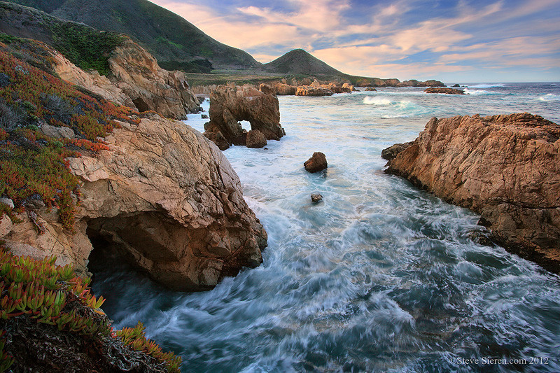 Sea Arch in Big Sur, California Central Coast