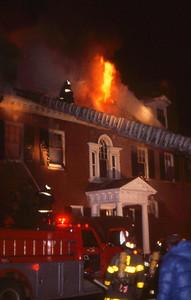 Dedham, Highland St 3rd Alarm, Feb. 1981