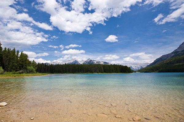 Two Jack Lake and Cascade Mtn