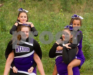 Weaver Cheerleaders September 2017