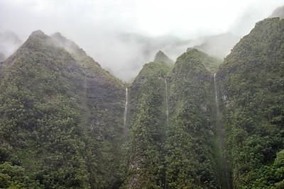 Laniki beach and H3 waterfalls