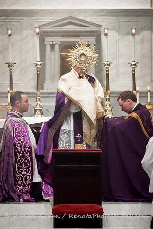 Laetare Sunday Solemn Vespers & Benediction in Extraordinary Form 2011