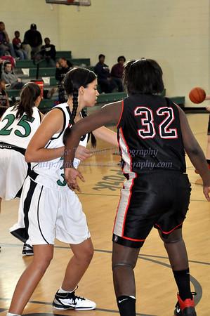 2010-12-10 BHS Women's JV Basketball @ Myers Park