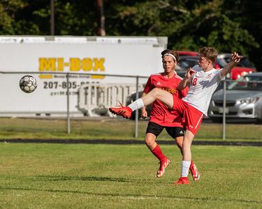 2021 Boys Soccer:  Hall-Dale vs Wiscasset