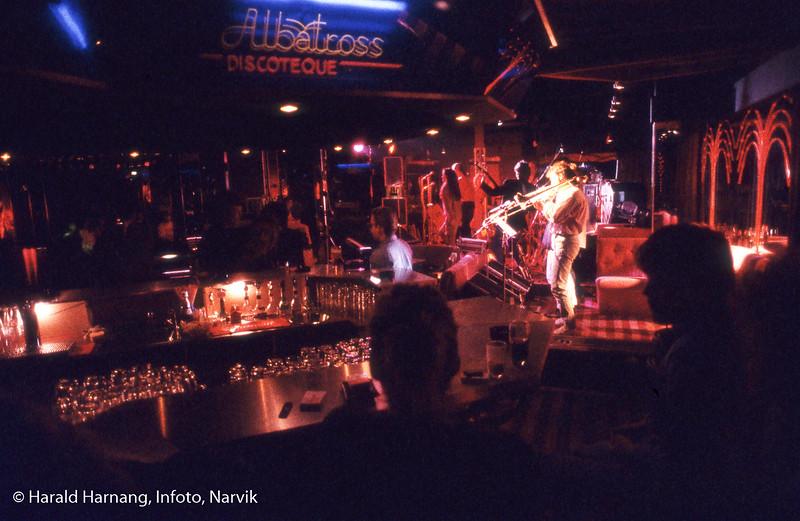 Konsert på Albatross diskotek.