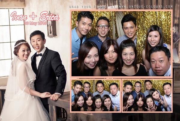 Ivan + Erica Photo Booth Album