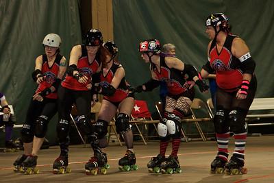 Quad City Rollers - 4/6/13 B Team Bout