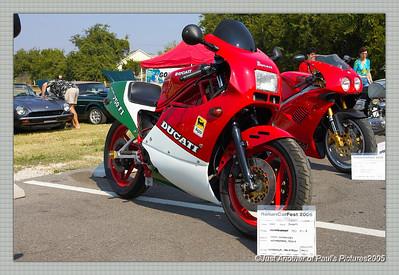 Grapevine Texas, Italian Car Show, August 10
