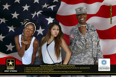 US Army - LCC (Green Screen Party Portraits)