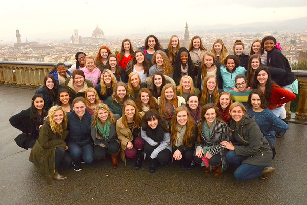 2016: Dettes in Italy - Day 4: Florence -> Dinner at a Farm in Tuscany